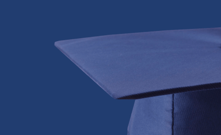 Image containing a graduation cap